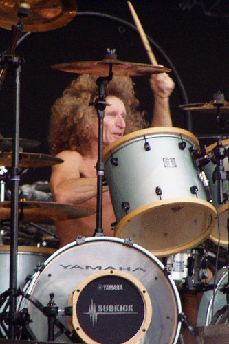 drummer Tommy Aldridge photograph
