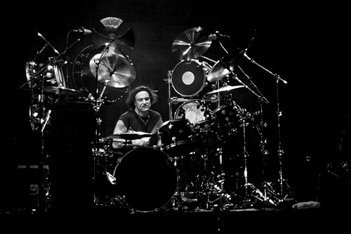 drummer Vinny Appice photograph