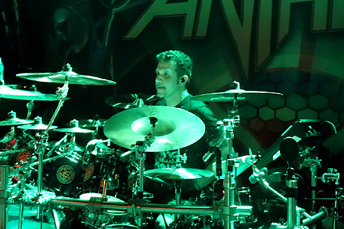 drummer Charlie Benante photograph