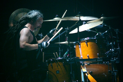 drummer Mike Bordin photograph
