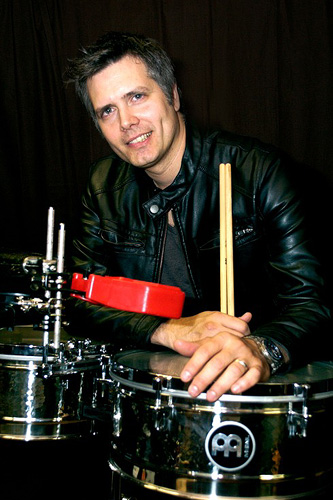 drummer Jimmy Branly photograph