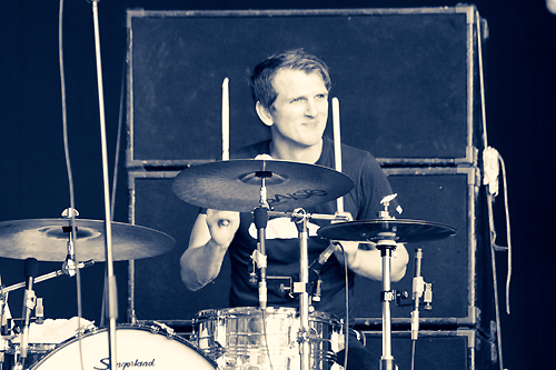 drummer Peter Carstens photograph