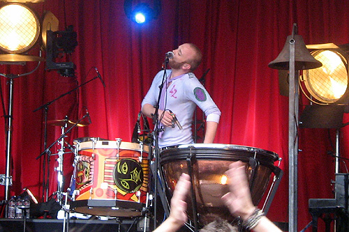 drummer Will Champion photograph