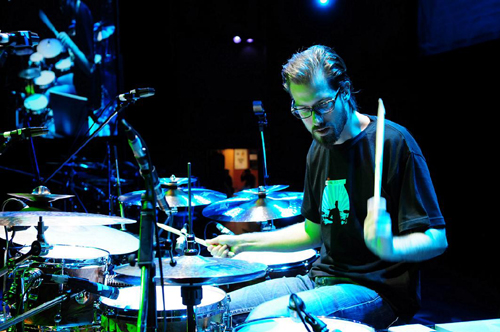 drummer Benny Greb photograph