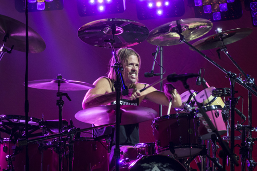 drummer Taylor Hawkins photograph