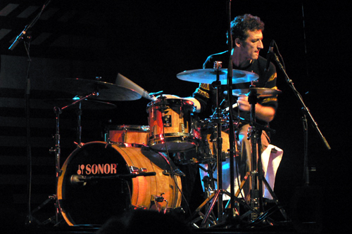 drummer Jojo Mayer photograph