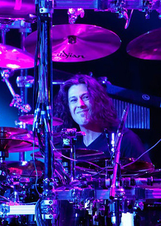 drummer Mike Mangini photograph