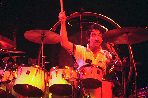 drummer Keith Moon photograph