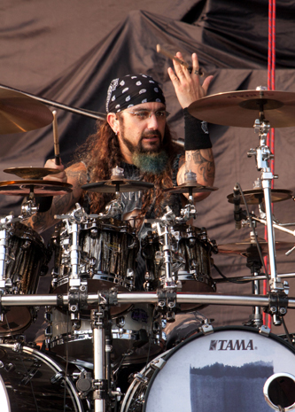 drummer Mike Portnoy photograph